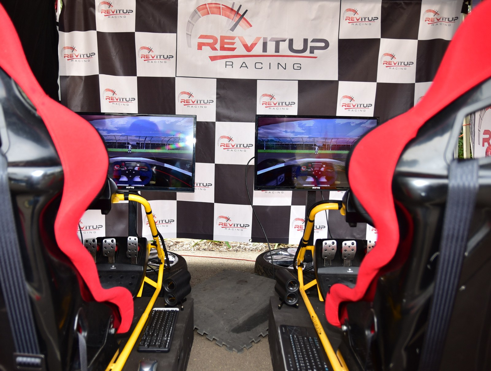 Rev It Up Racing Sims