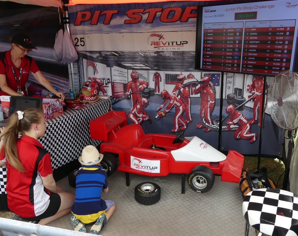 Kids Pit Stop Challenge