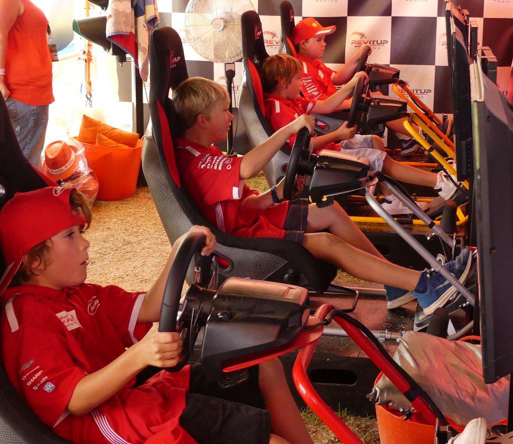 Kids Racing Simulators Adelaide